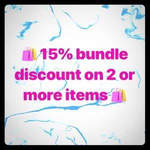 🛍Bundle discount! 🛍